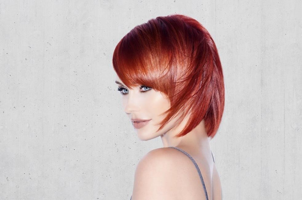 Red Hair Stone Hair Salon